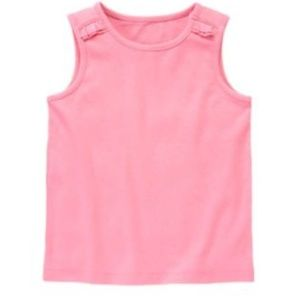"SZ.7 ""TEA TIME AFTERNOON"" Lt.Pink Sleeveles Tank"